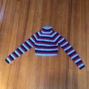 sooooo cute! urban outfitters striped turtle neck.